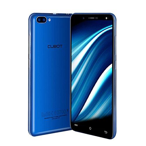 "CUBOT Rainbow 2 – Smartphone Libre 3G de 5.0""HD (Android 7.0, 13.0MP+2.0MP dual cámara trasera, 5.0MP cámara frontal, cual SIM , 16GB ROM + 1GB RAM, Quad Core,1.3 GHz)"