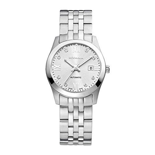 Rodania Swiss Damen-Armbanduhr Xelos Analog Automatik Edelstahl RS2505042