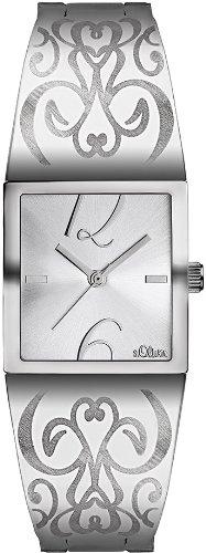 s.Oliver Damen-Armbanduhr SO-1746-MQ