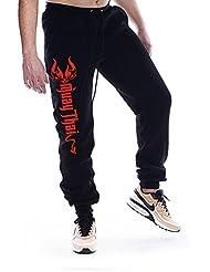 Dirty Ray Arts Martiaux Muay Thai pantalon de sport homme avec èlastique à la fin SDMT2S