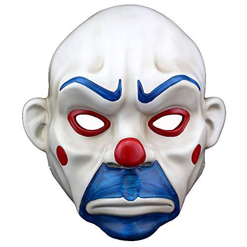 Clown Kopf Maske Neuheit Erwachsene Helm Hut Halloween 27 * 21 cm Dekoration Karneval Dekoration Emulsion Schaum