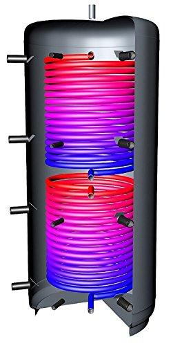 Pufferspeicher 3000 Liter Warmwasserspeicher 2 Solarwärmetauscher