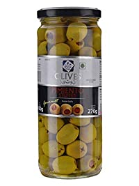 Ryca Stuffed Green Olives with Pimiento Paste, 450 gm