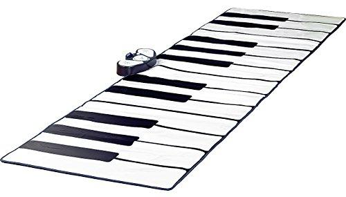 Playtastic Klaviermatte: Riesige Klavier-Matte mit Aufnahme-Funktion, 255 x 80 cm (Bodenklavier)
