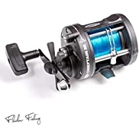FLADEN CHIEFTAIN 30-1 Ball Bearing Sea Multiplier Reel with Line Out Alarm & Level Wind [11-48430]