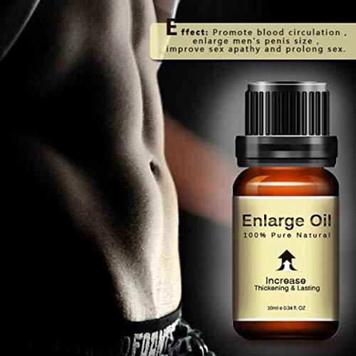 Sexualvergrößerung ätherische Öl größere längere Verzögerung Sex Produkte für Männer V-Activ Penis Power Cream for Men, 10 ml Erect Cream Potenzmittel sorgt für Eine härtere Erektion (10ml)
