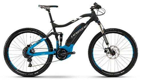 Bicicleta de montaña Haibike Sduro fullseven 5.0, colornegro / azul / blanco mate, modelo 2018, color Schwarz/Blau/Weiß matt, tamaño 52 cm, tamaño de rueda 27.50