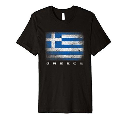 Griechische Flagge T-Shirt | Griechenland T-Shirt | Hellas Tee