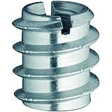 HSI Ramp amuffen con ranura, hierro galvanizado, M 10x 20mm, 5unidades, 656300.0