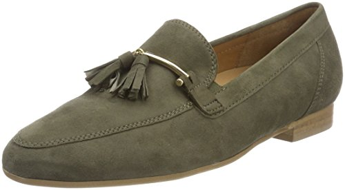 Gabor Shoes Damen Comfort Sport Pumps, Grün (Oliv), 38 EU