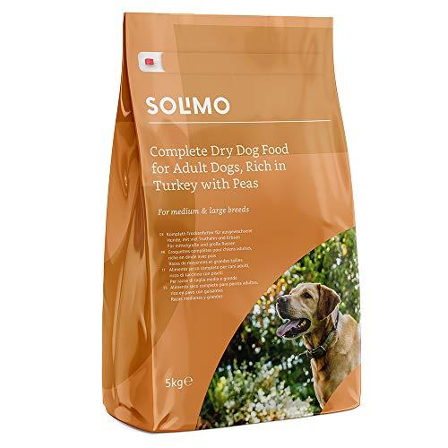 Marca Amazon - Solimo - Alimento seco completo perro