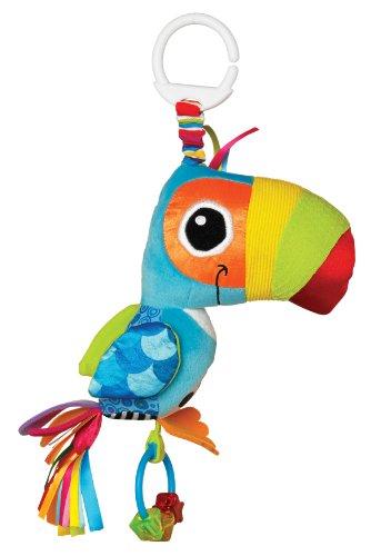 Lamaze Baby Spielzeug | Tommy, der Tukan | Clip & Go - hochwertiges Kleinkindspielzeug | Greifling | Kinderwagen Spielzeug |Anhänger zur Stärkung der Eltern-Kind-Bindung - ab 0 Monate
