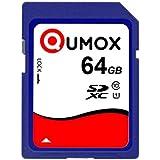 QUMOX 64Go 40Mo/s SDXC 64 Go Class 10 carte Mémoire