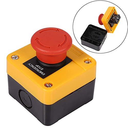 Características:   Nombre del producto: Interruptor pulsador; Tipo de contacto: 1 NO 1 NC  Hecho de materiales plásticos y metálicos de alta calidad, respetuosos con el medio ambiente, seguros y duraderos.  Compacto, rápido y suave.  Ampliamente u...