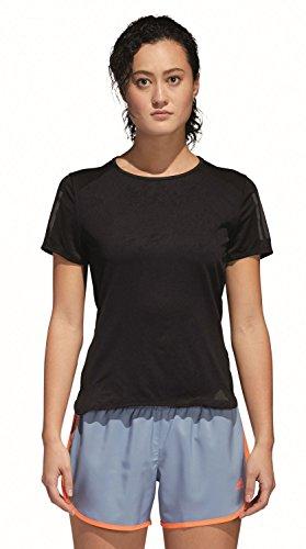 Black adidas T Damen Response Shirt wUq07