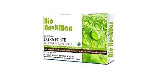 BioAcvitMax (5 Kapseln) - natürliches & pflanzliches Potenzmittel zur Lust und Libidosteigerung für den Mann