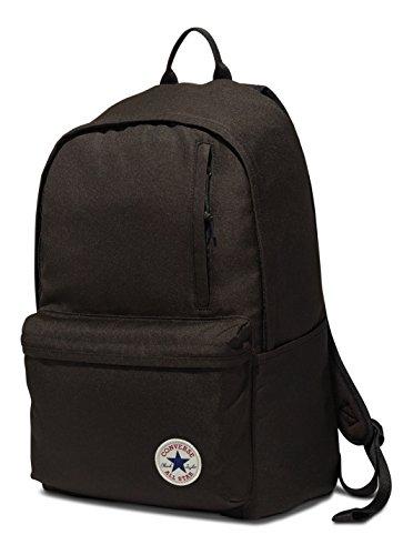 Imagen de converse backpack  unisex poly original black negro