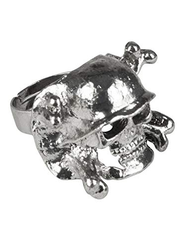 Delights 1980s Punk Rocker Fancy Dress Skull ()