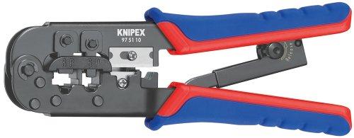 Knipex 975110 Pince à sertir pour connecteurs utilisés en Europe occidentale (Import Grande Bretagne)