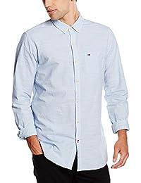 Hilfiger Denim Neps Stripe Shirt L/S 1, Chemise de Loisirs Homme