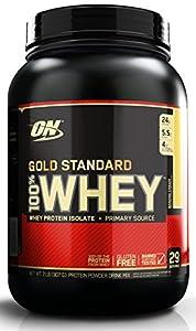 Optimum Nutrition Whey Gold Standard Protein, Banana Cream, 1er Pack (1 x 908g)