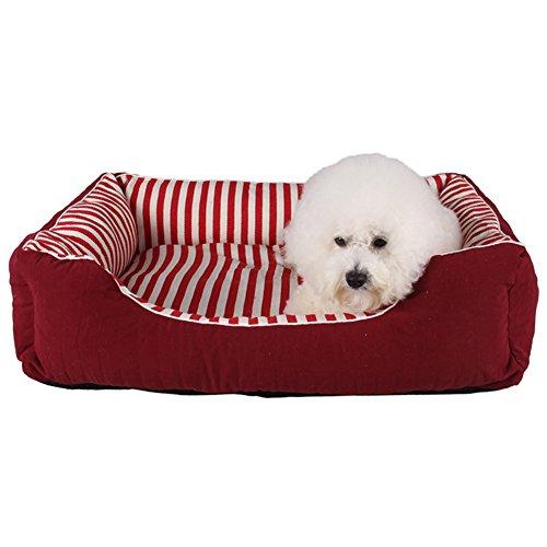 Artikelbild: ZuckerTi Hundebett Hundekissen Hundesofa Hundekorb Katzenbett Tierbett Hundebett Hundesofa Kissen Matte Bett für Pet Hund Katze Haustier Welpe in 3 farbe und 2 Größen(/M/L) wählbar