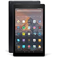"Fire HD 10 Tablet with Alexa Hands-Free, 10.1"" 1080p Full HD Display, 32 GB, Black – without Special Offers"