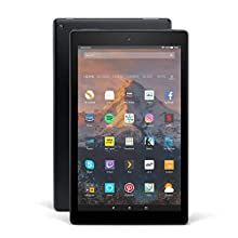 Fire HD 10 Tablet, 1080p Full HD Display, 32 GB, Black—with Special Offers (Previous Generation - 7th)