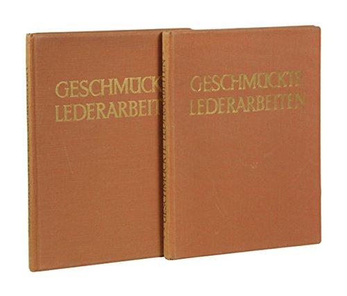 Geschmückte Lederarbeiten. 2 Bände.