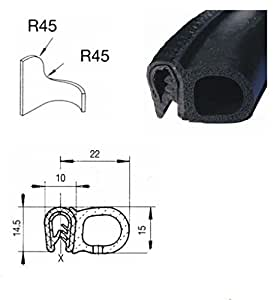 eutras dichtungsprofil ksd2053 kofferraumdichtung. Black Bedroom Furniture Sets. Home Design Ideas