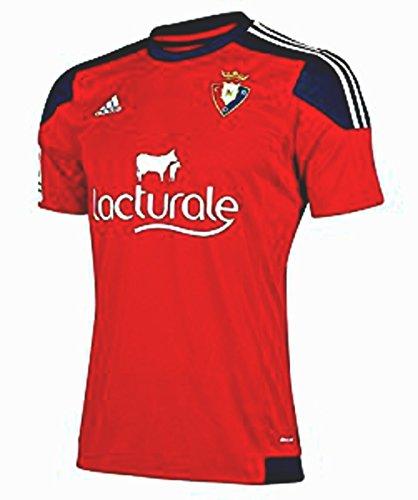Adidas - Camiseta oficial de 1ª Equipación Club Atlético Osasuna 2015/2016 para niño , talla 116