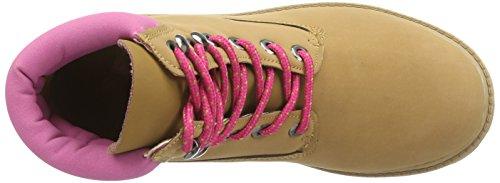 Kappa - Kombo Mid Ii Footwear Women, Sneaker alte Donna Beige (Beige (4122 beige/pink))