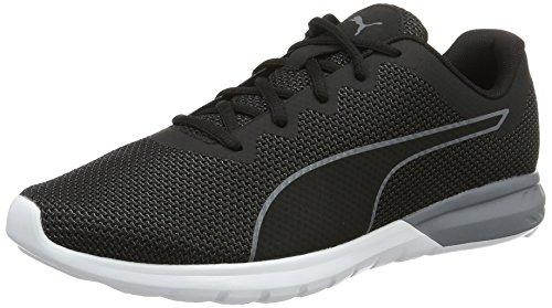 Puma Vigor, Men's Competition Running Shoes, Black (Puma Black-quiet Shade-puma White 02), 10.5 UK (45 EU)