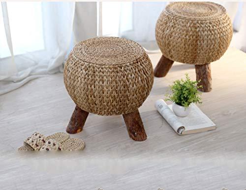 Esperanzaxu sgabello da giardino in legno massello poggiapiedi