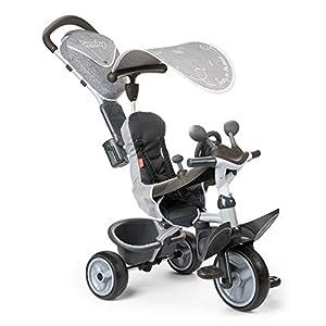 Smoby 741202 Baby Driver Comfort Titanium Grey   15