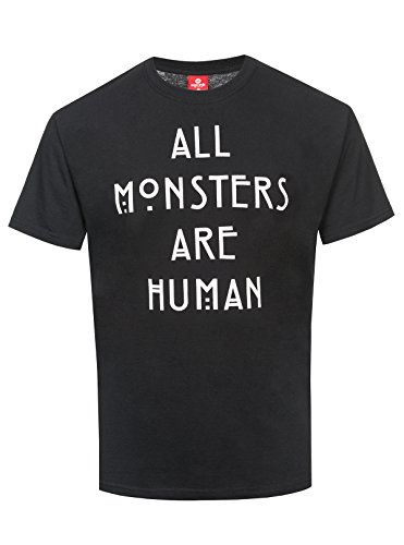 T-shirt American Horror Story All Monsters Are Human coton noir - M