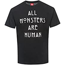 910388c89a7b7 American Horror Story All Monsters Are Human Camiseta Negro