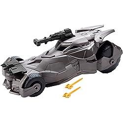 La liga de la Justícia - Batmóvil superlanzamisiles (Mattel FGH57)