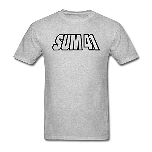 Men's Sum 41 Band Logo T-Shirt M ColorName Short Sleeve Large
