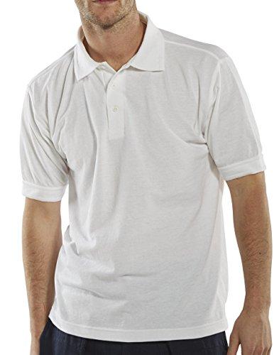 Clickworkwear Short Sleeve Pilot Shirt weiß