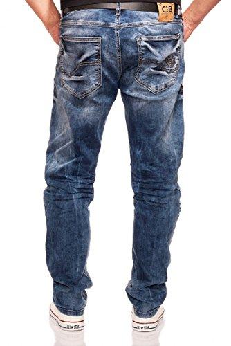 Cipo CD319 Blue Jeans-Blau