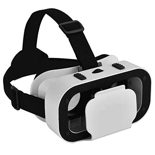 LRXHGOD VR Brille 3D Virtual Reality Brille für 4,7-6,0 Zoll Smartphone Universal