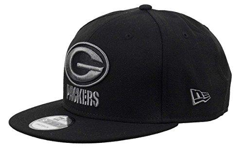 New Era 9Fifty Snapback Cap - Green Bay Packers schwarz (Green Bay Packers)