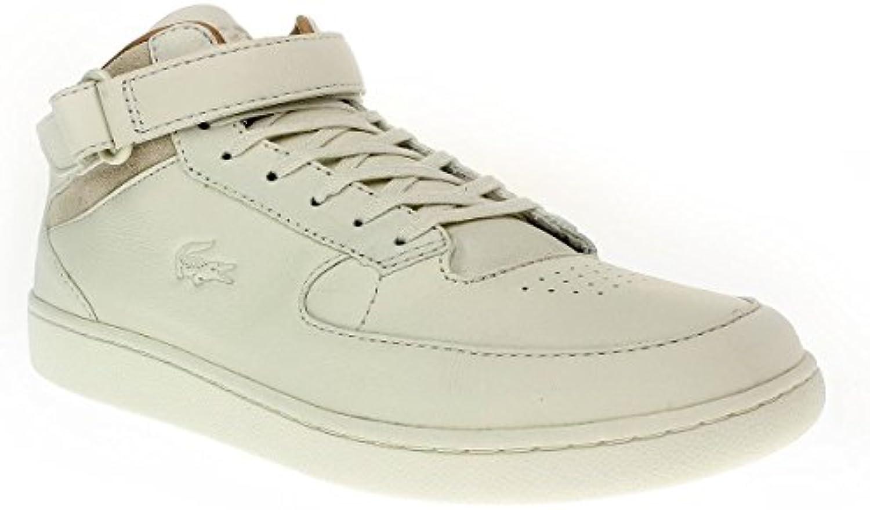 Lacoste Turbo 2 730SRM0032   Herren Schuhe Sneaker Schnürer   098offwht