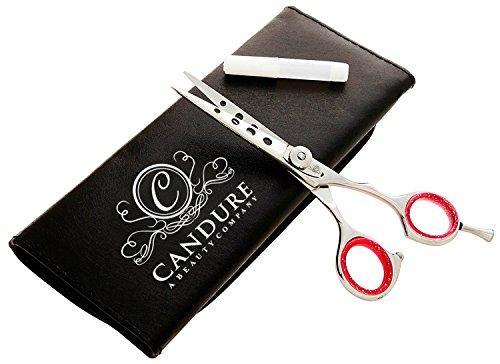 Preisvergleich Produktbild CANDURE® - Friseurscheren Set Friseur-Salon Schere aus japanischem Stahl- Haarscheren + FALL