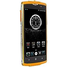 "Smartphone Libre 4G,HOMTOM ZOJI Z7 IP68 Impermeable Teléfonos Móviles libres de 5.0""(Android 6.0,Dual Sim,MTK6737 Quad Core 1.3GHz,2GB RAM 16GB ROM,8MP+5MP Cámara,Bluetooth 4.0,3000mAh Batería,GPS)"
