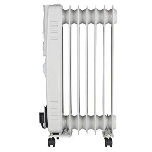 41mWPKZFIGL. SS500  - PIFCO P43003YT Oil Filled Radiator with 24 Hour Timer, 3 Heat Settings and Overheat Protection Feature 1500 W, Grey