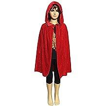 Labellevie Capa con Capucha Disfraces de Halloween para Niños 60CM