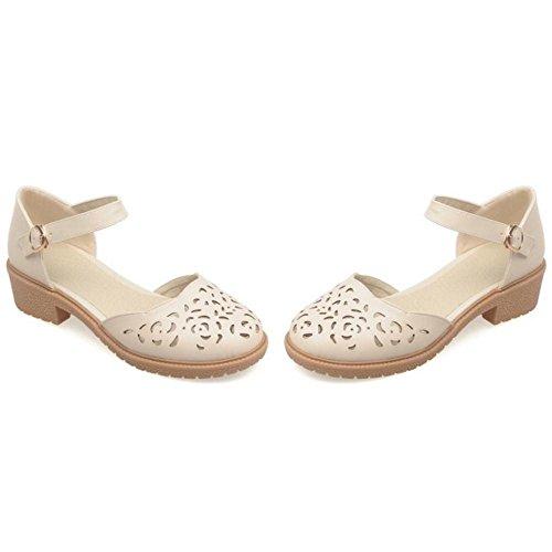 Coolcept Femmes Ete Bride Cheville Chaussures Beige-3