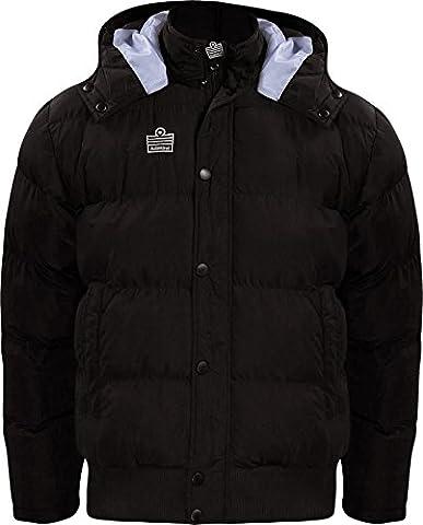 Admiral Parka Soccer Sideline Winter Jacket, Black, Adult